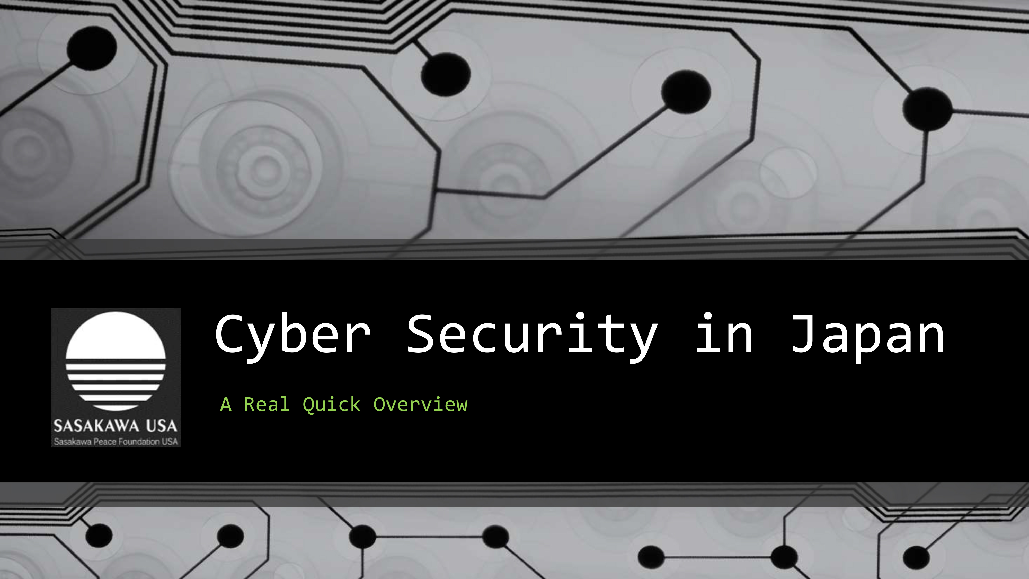 overview of cyber security essay Home topics cybersecurity cybersecurity overview in light of the risk and potential consequences of cyber events, strengthening the security and.