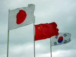 1112 japan china korea flags