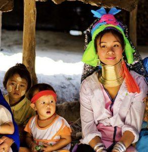 northern thailand women