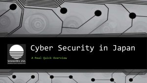 20160322 Cyber Security in Japan Overview-1